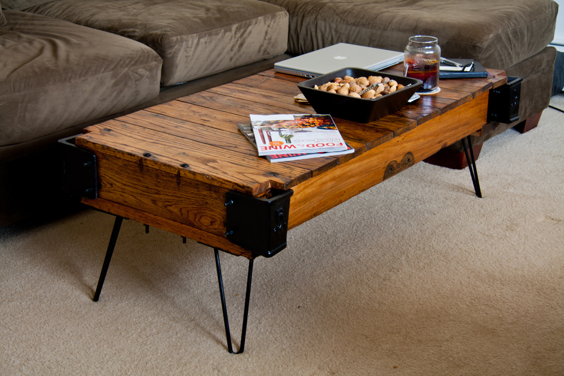 From Factory Cart To Coffee Table Jon Ferry